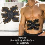 Aparat de fitness cu electrostimulare Beauty Body Mobile Gym 6 Pack