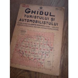 HARTA CHISINAU-HUSI, 1928- HARTA LITOGRAFIATA IN CONFORMITATE CU NOUA IMPARTIRE