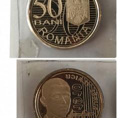 Lot monede 50 de bani 2015 Vlaicu,Basarab,M.cel Batran,Vladislav V.,N. Basarab