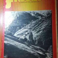 Revista flacara 21 iunie 1975-articol despre mina ostra, jud. suceava
