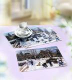 4 naproane 3d peisaj de iarna