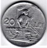 20 lei 1951  XF/a.UNC  RPR (8), Aluminiu