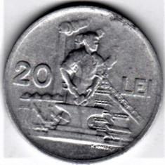 20 lei 1951 XF/a.UNC RPR (8) - Moneda Romania, Aluminiu