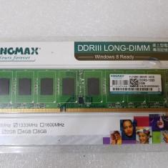 Memorie Kingmax DDR III 2GB, 1333MHz - poze reale - Memorie RAM Kingmax, DDR 3