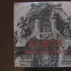 MOZART - Menuete și contradansuri - Elveția - Disc pick-up vinil - Muzica Clasica Melodia
