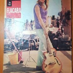revista flacara 27 iunie 1970-articol si foto despre targu mures si reghin