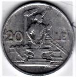20 lei 1951   VF+  RPR (13), Aluminiu