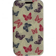 Husa Flip Cover Tellur Folio pentru Samsung J1 Mini Butterfly - Husa Telefon