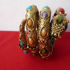 BRATARA SARPE, TIP ARMURA - Bratara Fashion
