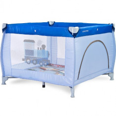 Tarc de joaca Caretero Traveler 100 x 100 Blue