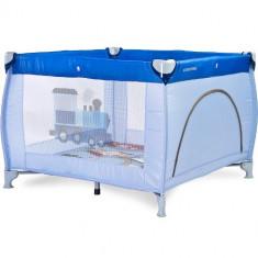 Tarc de joaca Caretero Traveler 100 x 100 Blue