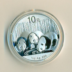 CHINA - 10 Yuan 2013 - 31.11 gr. Argint .999 - in capsula  - UNC, Asia