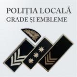 Grade Brodate Politia Locala, Embleme Brodate Politia Locala si Petlite Brodate