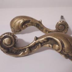 Clanta veche de bronz masiv - Metal/Fonta
