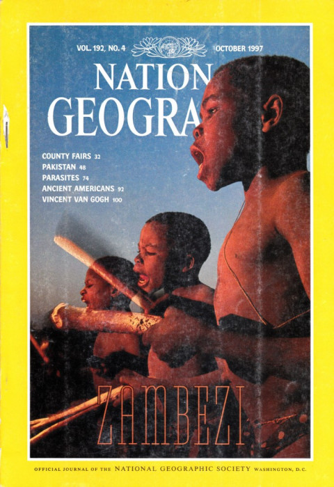 National Geographic October 1997 foto mare