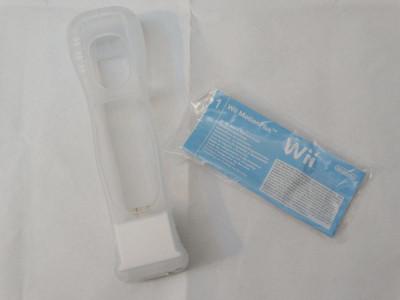 Wii motion plus motionplus pentru wiimote consola Nintendo Wii + husa silicon foto