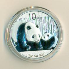 CHINA - 10 Yuan 2011 - 31.11 gr. Argint .999 - in capsula  - UNC, Asia