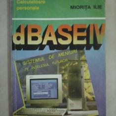 D'BASE IV - Miorita Ilie - Carte baze de date