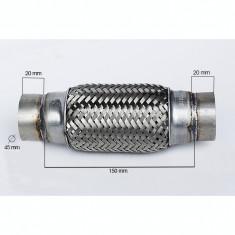 RACORD FLEXIBIL toba esapament INNER & OUTER BRAID 45x150 mm  IS-60092