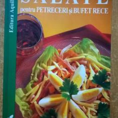Salate pentru petreceri si bufet rece