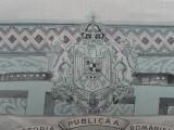 Obligatiune Imprumutul de inzestrare a tarii din 1934 ,1000 lei ,cupoane