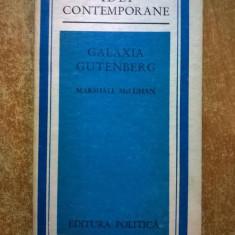 Marshall McLuhan – Galaxia Gutenberg - Carte Filosofie