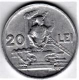 20 lei 1951 a.UNC/UNC RPR (2), Aluminiu