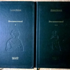 Giovanni Boccaccio – Decameronul {2 volume, Col Adevarul} - Roman
