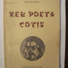 "GE - George ACSINTEANU ""Rex Poeta Cotis / poem dramatic"""