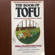 book of tofu protein source of the future now carte retete sfaturi in lb engleza
