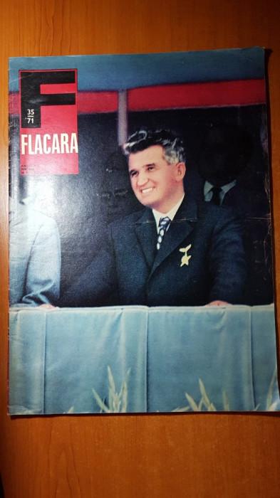 ziarul flacara 28 august 1971-art. si foto despre portile de fier si orsova
