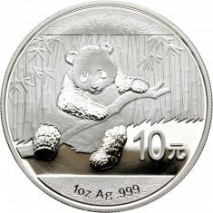 CHINA - 10 Yuan 2014 - 31.11 gr. Argint .999 - in capsula  - BU, Asia