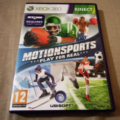 Joc Kinect Motion Sports, XBOX360, original, alte sute de jocuri! - Jocuri Xbox 360, Sporturi, 3+, Multiplayer