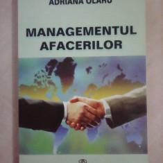 Managementul afacerilor - ADRIANA OLARU