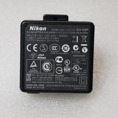 Incarcator acumulatori aparat foto Nikon EH-69P - poze reale - Incarcator Aparat Foto