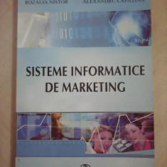 Sisteme informatice de marketing - R. NISTOR , ALX. CAPATINA