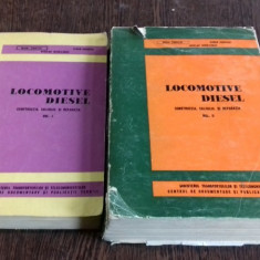 LOCOMOTIVE DIESEL - MIHAI TIGHILIU 2 VOLUME - Carti Transporturi