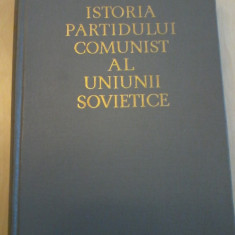 ISTORIA PARTIDULUI COMUNIST AL UNIUNII SOVIETICE