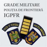 Grade Brodate Politia de Frontiera IGPFR si Embleme Brodate si Petlite Brodate