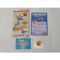 Cartonase Tom & Jerry sigilate noi - cartonas + sticker