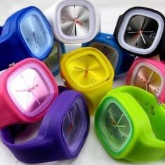 Ceas-uri SS Unisex din Silicon Multicolore