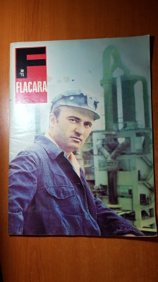 revista flacara 16 septembrie 1972-vast articol si foto despre orasul tulcea foto