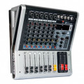 NOU!MIXER AUDIO 4 CANALE, AMPLIFICAT 250WATT,EFECTE DSP,USB,BLUETOOTH,AFISAJ.