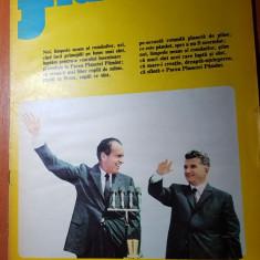 Flacara 15 decembrie 1973-vizita lui ceausescu in SUA, intalnirea cu nixon
