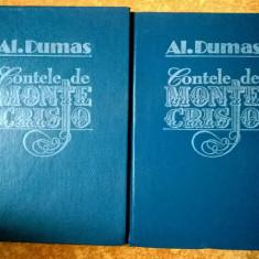 Alexandre Dumas – Contele de Monte-Cristo {2 volume, 1992} - Carte de aventura