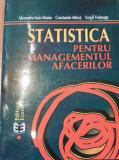 Statistica pentru managementul afacerilor de Alexandru Isaic-Maniu