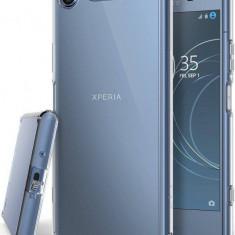 Husa Protectie Spate Ringke Fusion Clear pentru Sony Xperia XZ1