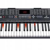 Orga electronica 61 de clape iluminate, USB, inregistrare, premium