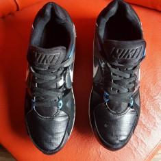 Nike Air Max originali, piele naturala+textil, nr.44-28 cm. - Adidasi barbati Nike, Culoare: Negru