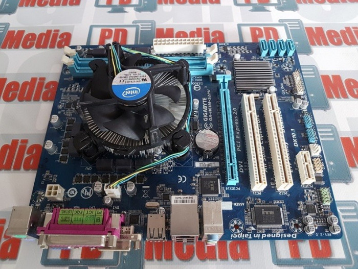 Kit Placa de baza, CPU Intel G540 2500 GHz, 4 GB DDR3 foto mare